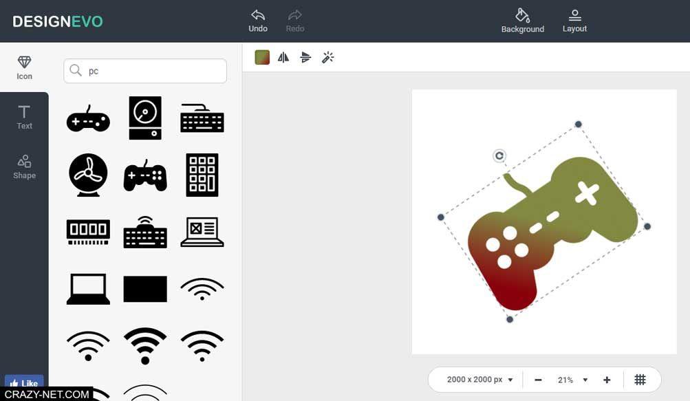 طريقة تصميم شعار احترافي بدون برامج و مجانا Free Logo Design Cards