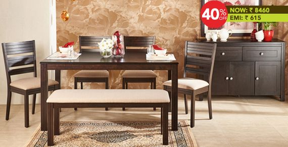 48dd75a10d0 MONTOYA 6 Seater DINING TABLE