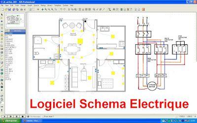 schema electrique | bricolage | pinterest | electrique, schéma et ... - Schema De Tableau Electrique Pour Une Maison