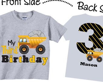 T Shirts Birthday