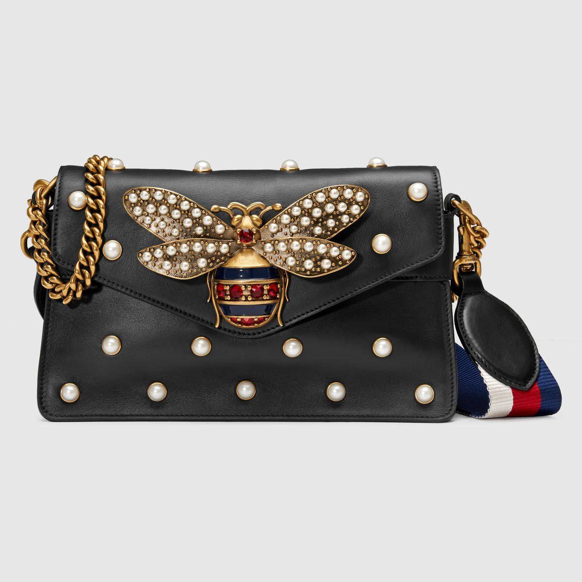 8b24adc1fc85 Broadway leather mini bag | purses/bags | Gucci shoulder bag, Gucci ...