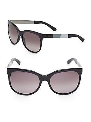 62b6f090eb Marc by Marc Jacobs 56MM Oversized Oval Sunglasses - Black - Size No ...