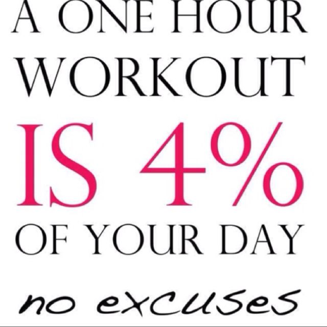 No excusesseriously