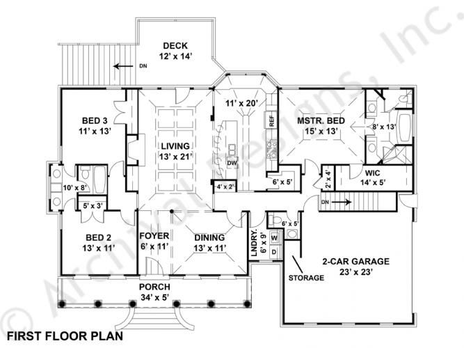 Harthaven Place House Plan Home Plans By Archival Designs Courtyard House Plans Lake House Plans House Plans South Africa