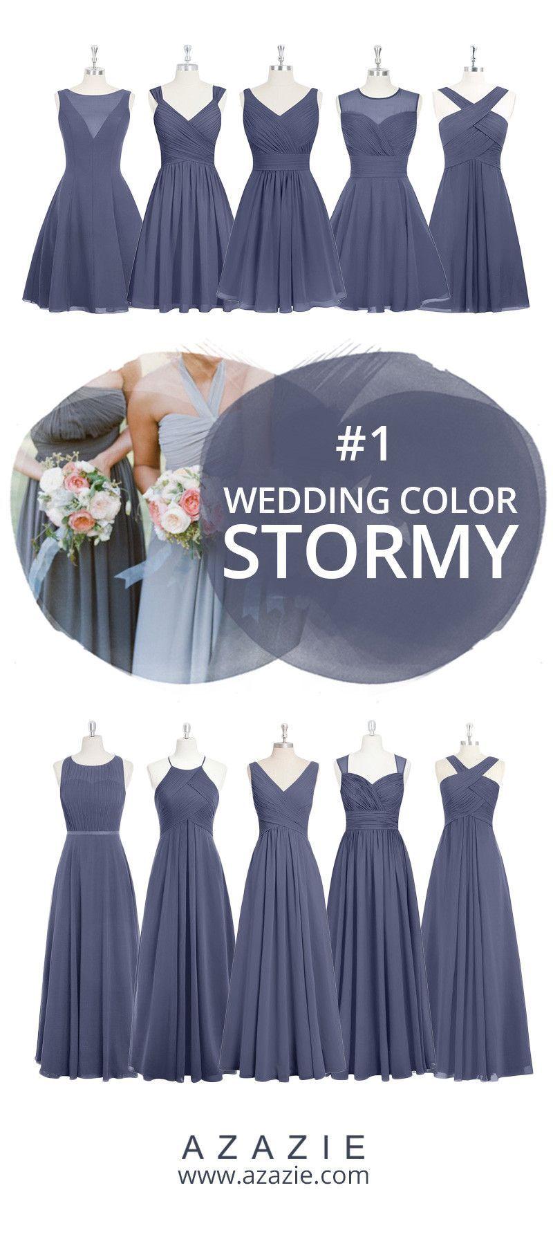 Azazie stormy swatch in fabrics blue chiffon mesh lace tulle
