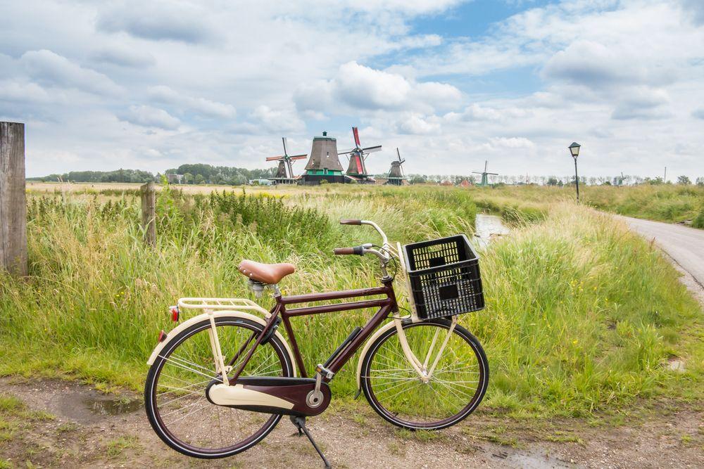 Fietsvakantie door Nederlands