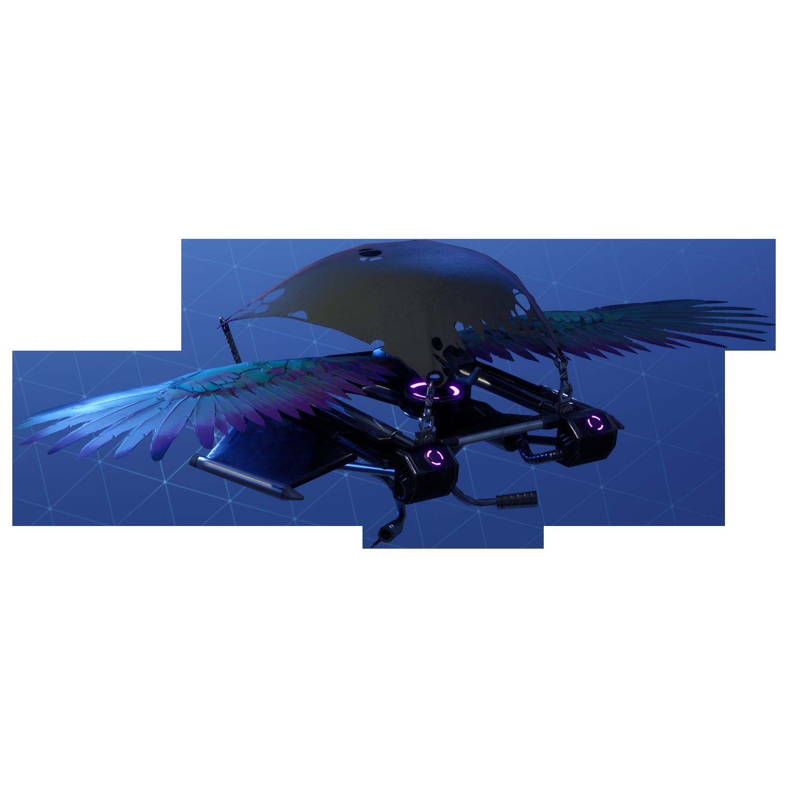 Fortnite Feathered Flyer Png Image Fortnite Game Artwork Gliders