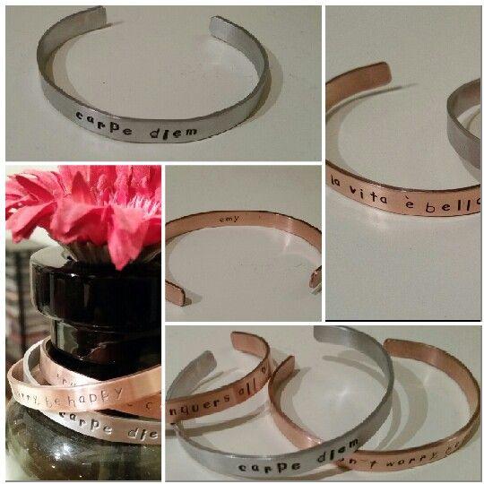 Selfmade bracelets