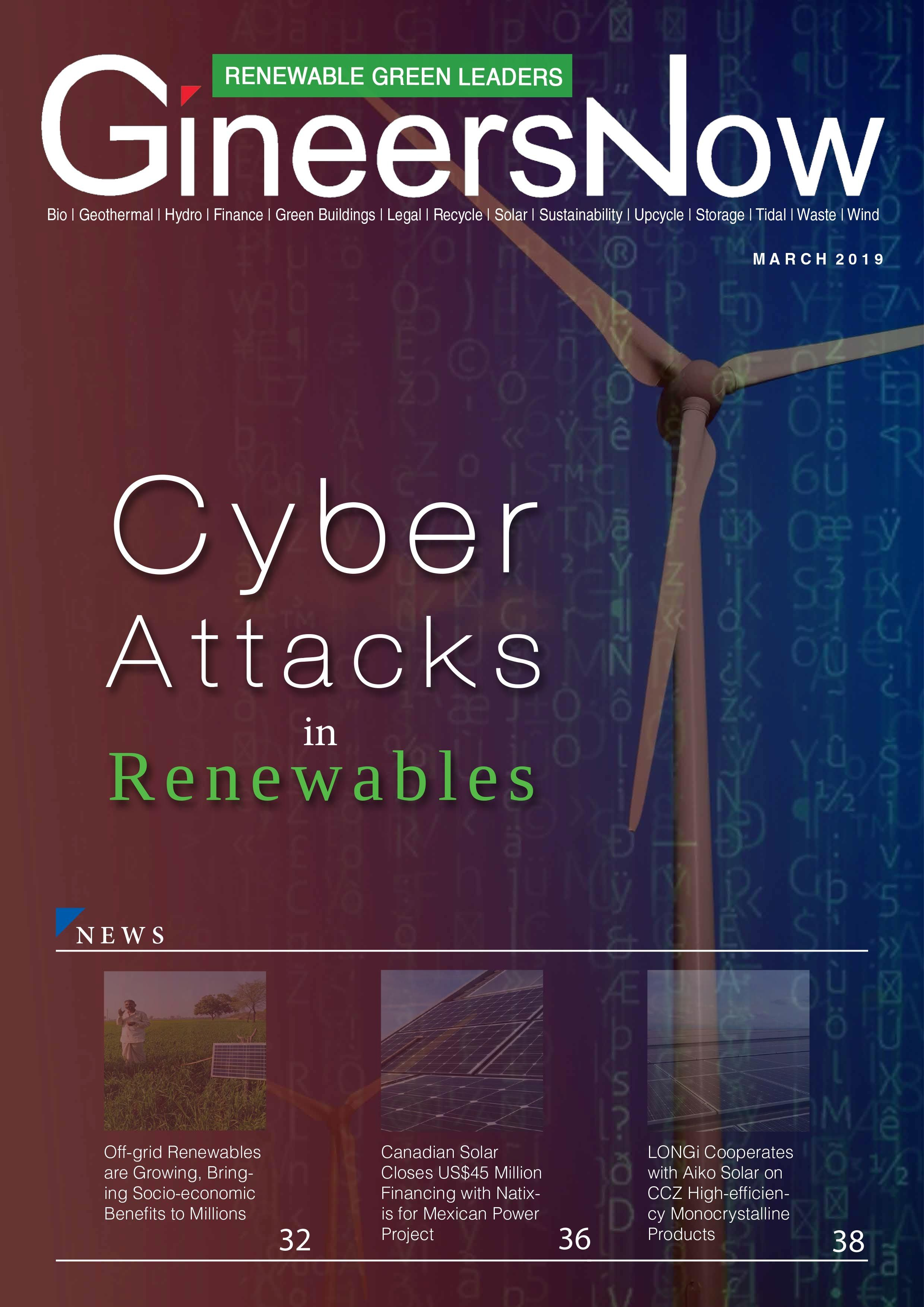 Cyber Attacks in the Renewables