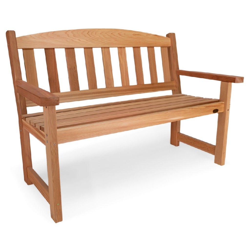 Garden Bench All Things Cedar Gb48 In 2020 Bench Outdoor Furniture Outdoor Decor