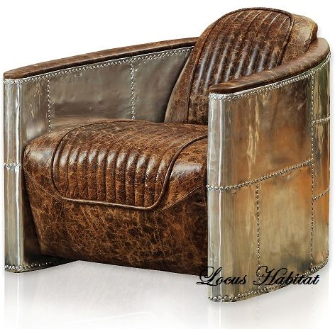 italy detail buy retro aviator chair leather product