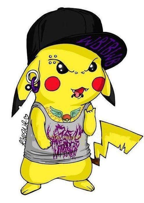Breekachu (Pikachu) from WBTBWT. I love that song ...