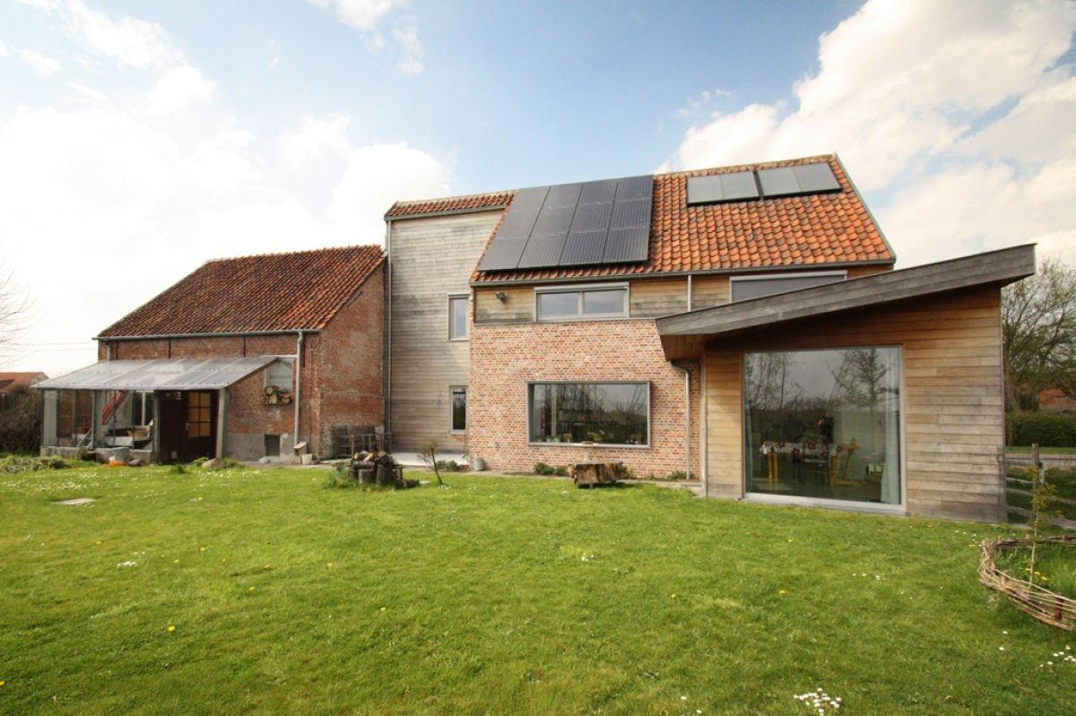 Goeie website renovatie van hoeve tot lage energie woning projecten bast huizen exterieur - Huis renovatie ...