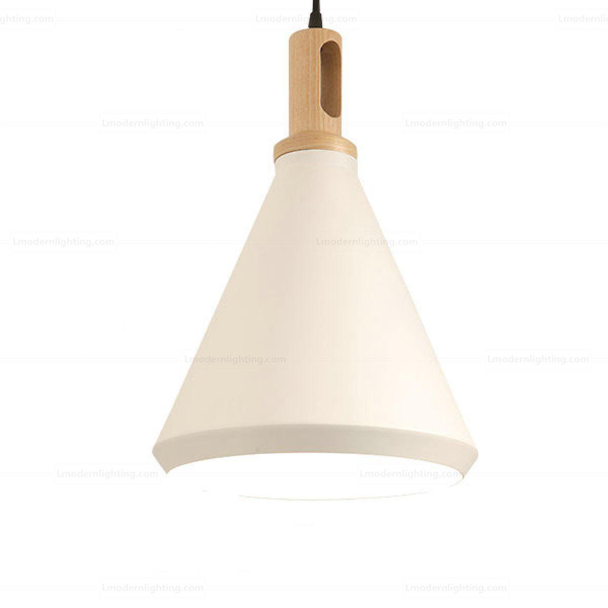 Asian Hats Aluminium Nonla Elongated Triangular Pendant Lamp