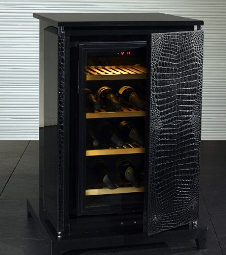 fendi leather wrapped wine cellar