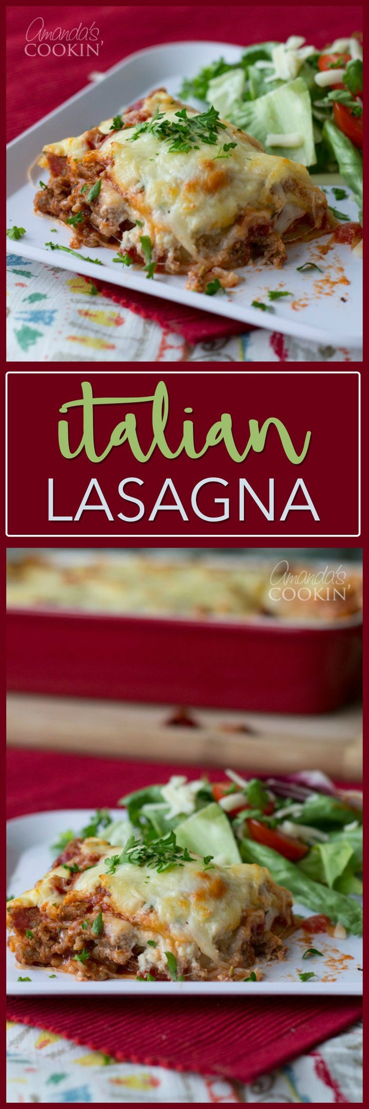 This Italian Lasagna Comes From The Back Of The Creamette