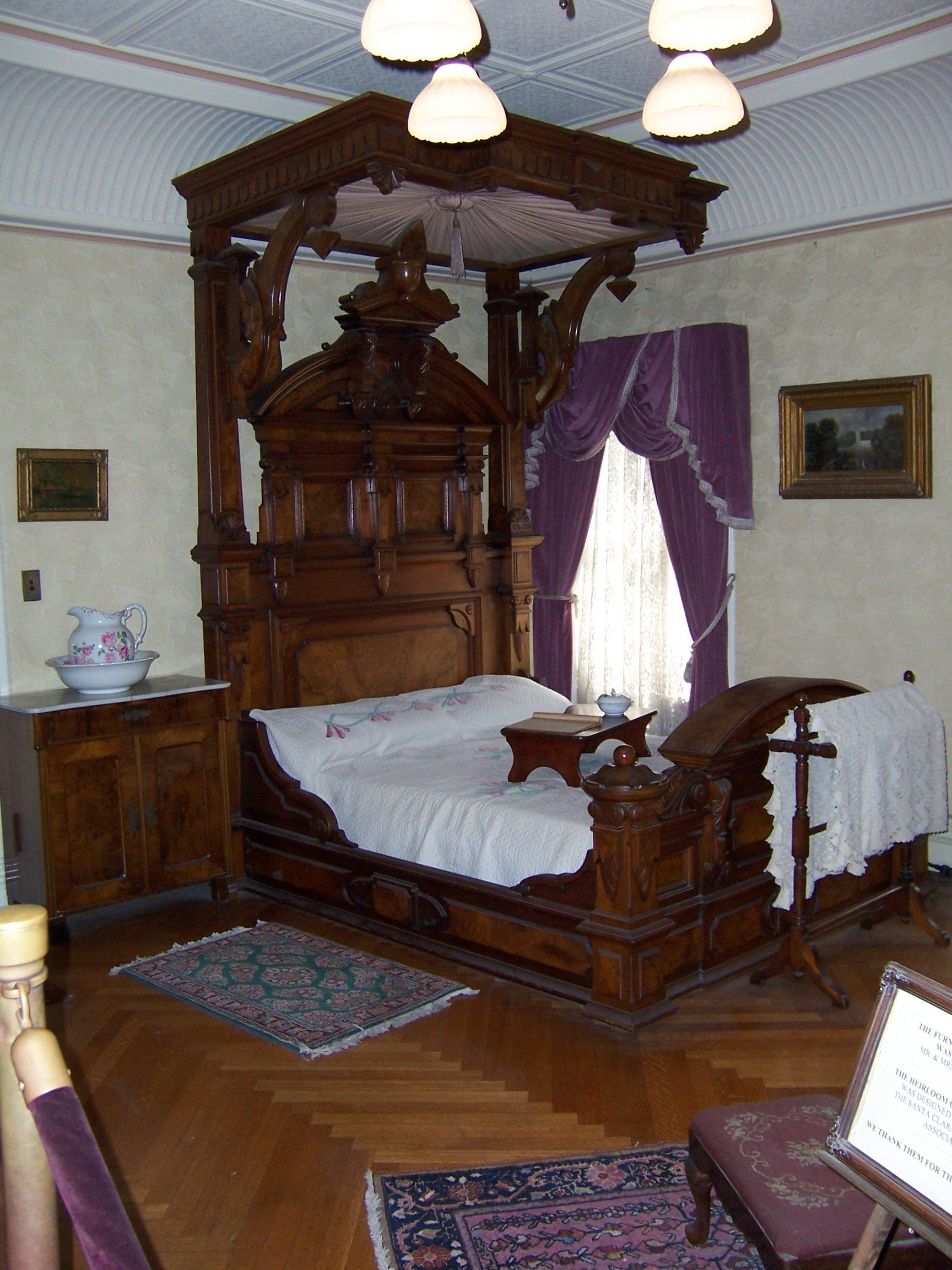 sarah winchester s bedroom where she died winchester mystery