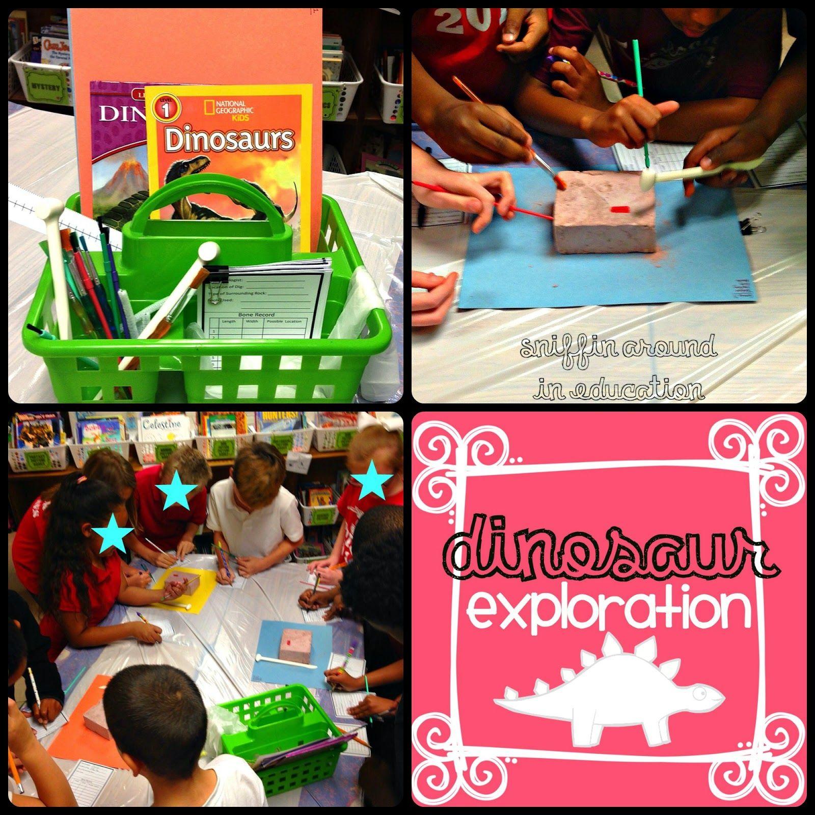 Dinosaur Fossils Exploration 3rd Grade Sniffin Around In