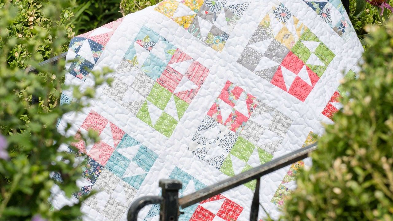 Make a Twinkling Stars Quilt with Jenny! | quilts and sewing | Pinterest