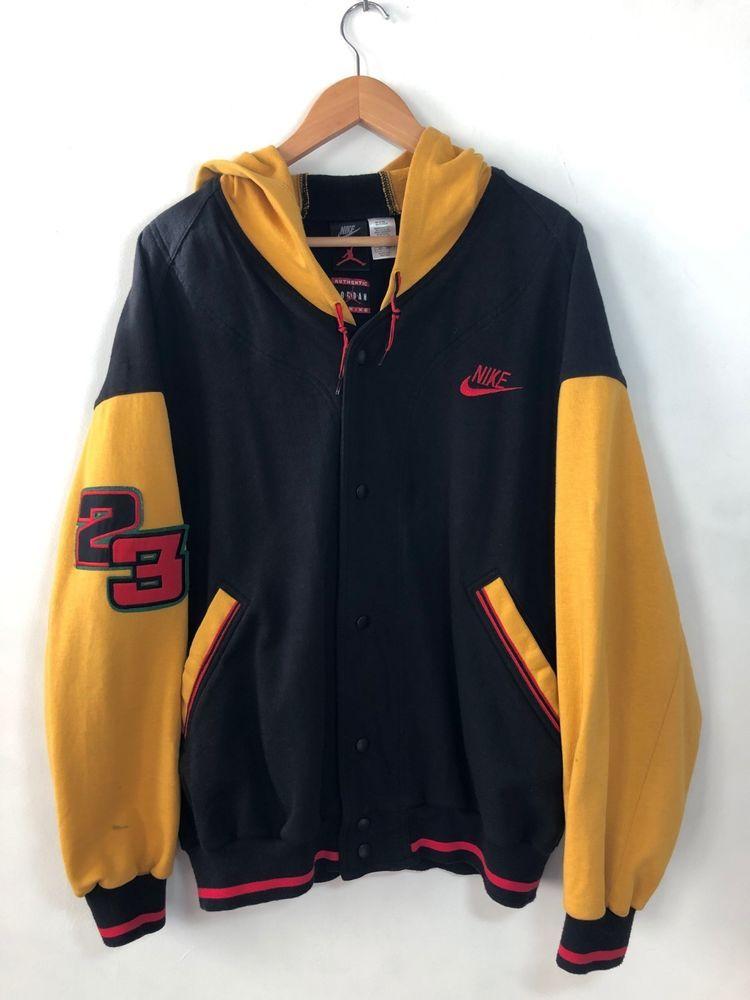 Vintage Nike Air Jordan Sweatshirt Jacket Og Flight 90 S 92 Og Fligh Sweatshirt Jacket Jordan Sweatshirt Vintage Nike