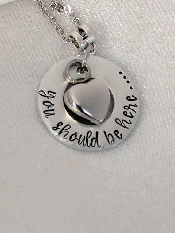 7ff160e7cd0b5 Urn Necklace - Ash Urn Locket - You Should Be Here - Memorial ...