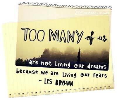 travel quotes | Too many of us are not living our dreams because we are living our ...