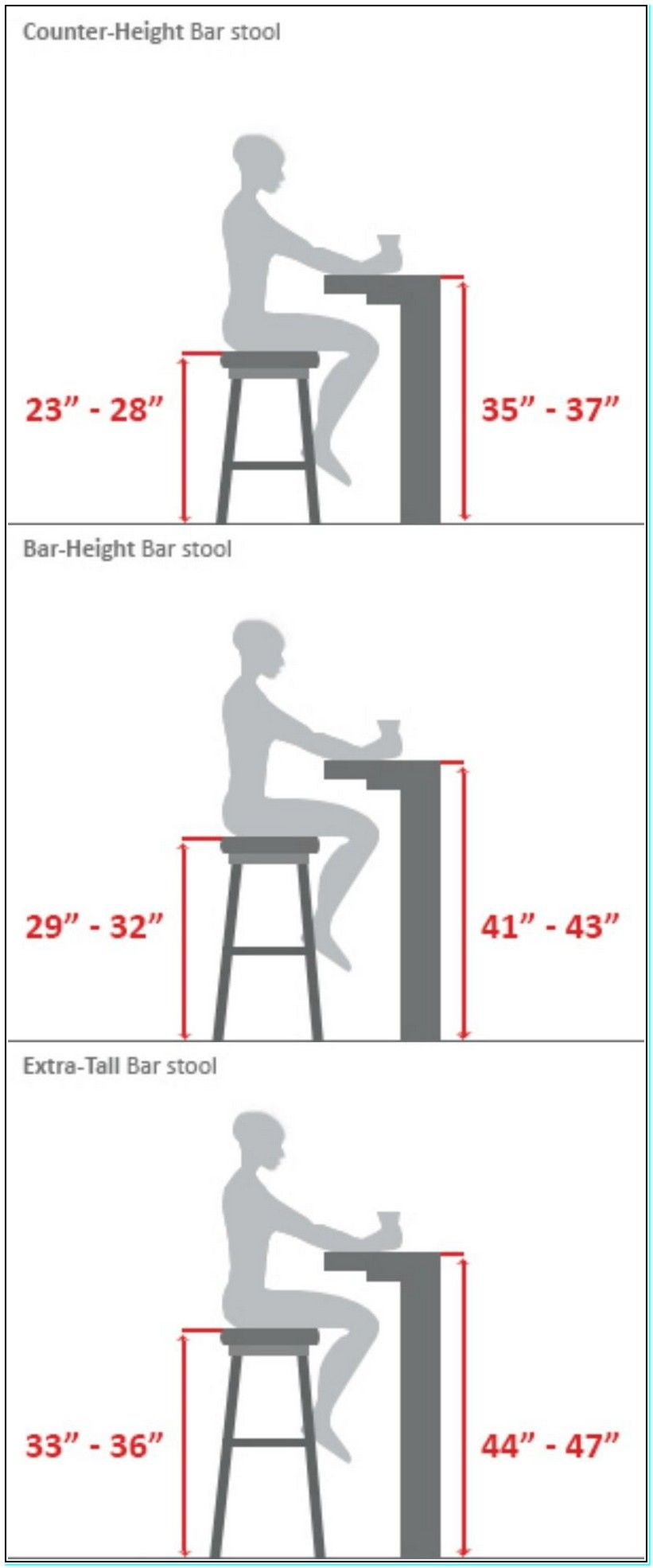 Unique Standing Bar Table Height