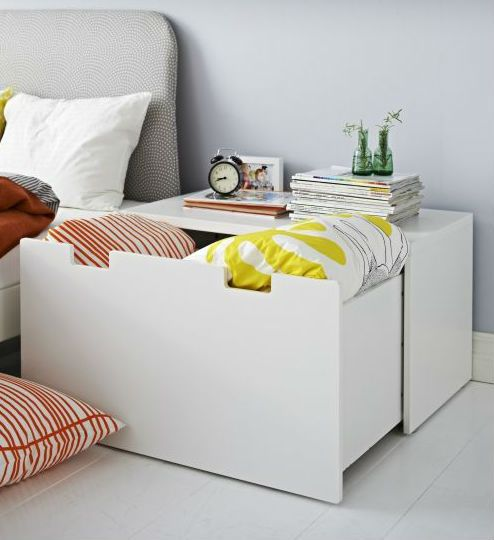 stuva storage bench white white bancs rangement et chambre enfant. Black Bedroom Furniture Sets. Home Design Ideas