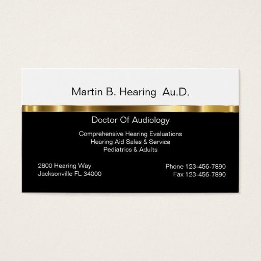 Audiology business cards business cards and business audiology business cards reheart Choice Image