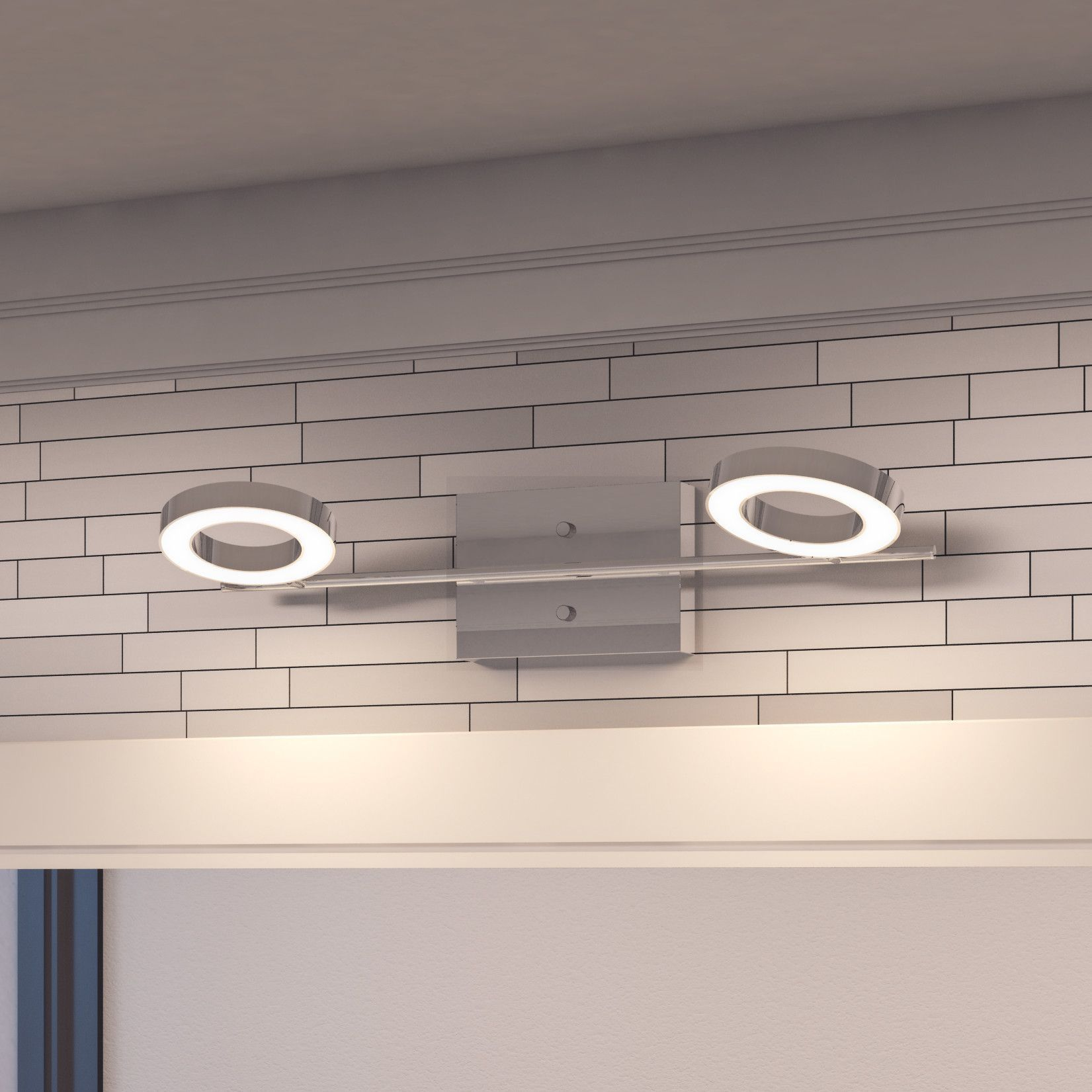 Halo 2 Light Led Vanity Light For The House Modern Vanity