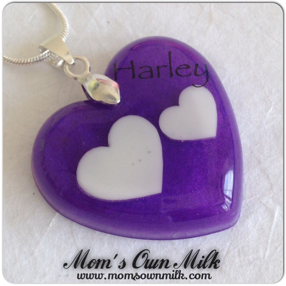 Resin pendant prices start at £ 17.50.   Order online at www.momsownmilk.com Facebook, Twitter, Pinterest & Instagram: @momsownmilk  #momsownmilk