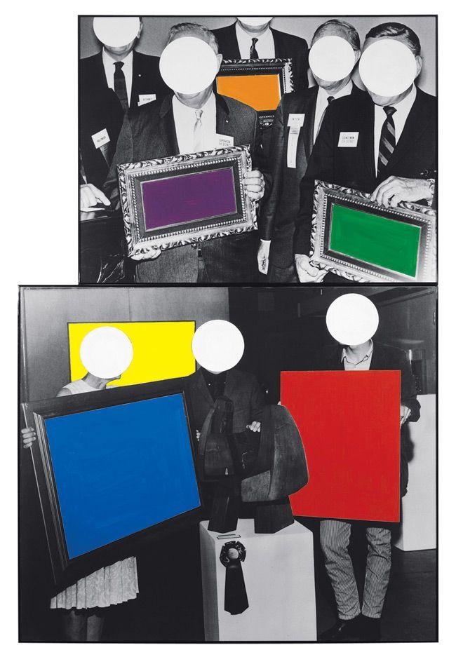 John Baldessari - Frames and Ribbon (1988)