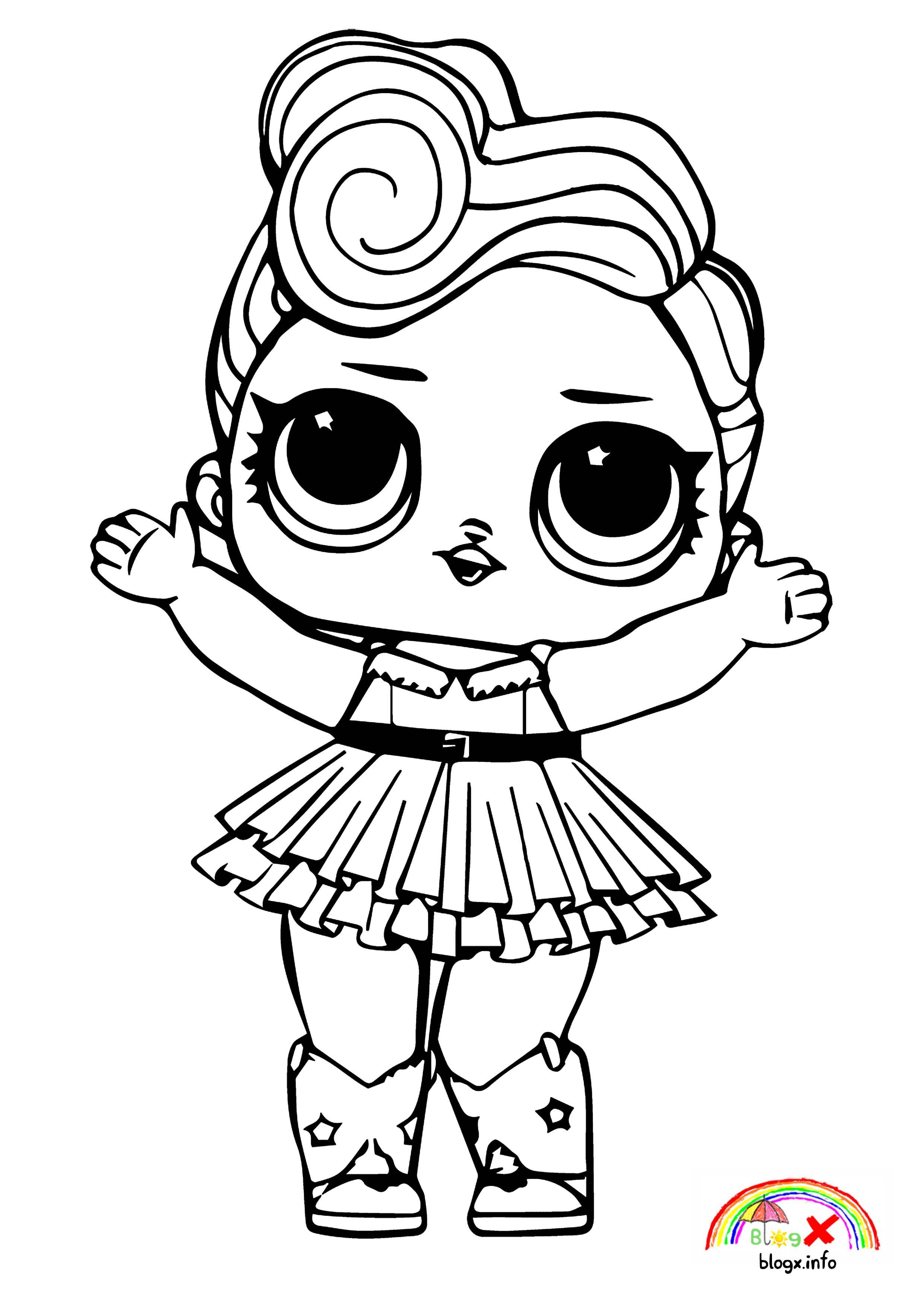 - Lol Surprise Dolls Coloring Book HD (com Imagens) Desenhos Fofos