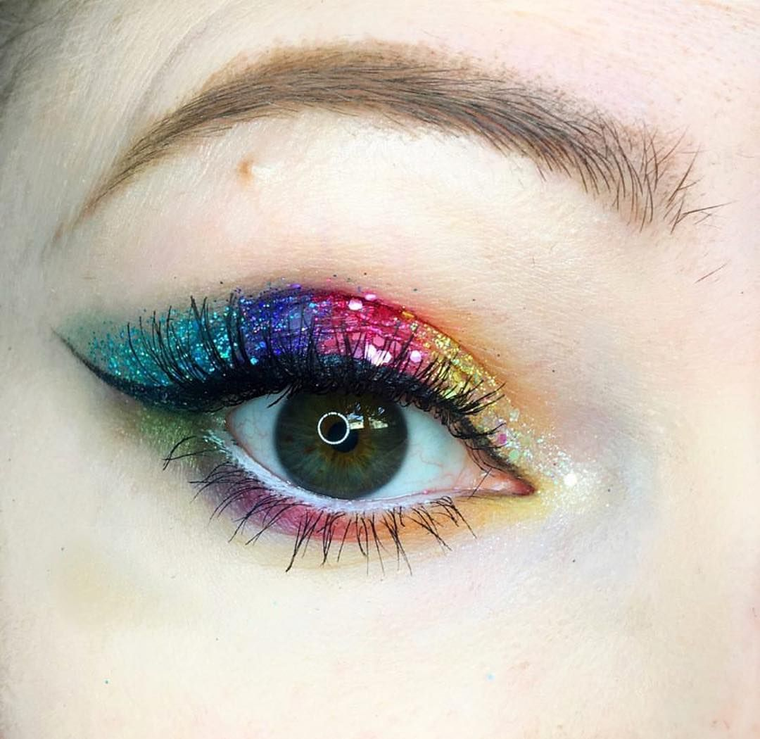 eb9e3bf887e01 Another pride inspired look making the most of the beautiful colours ...