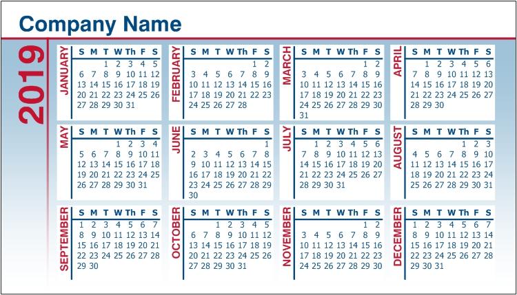 Pocket Calendars Custom Calendar Pocket Calendar