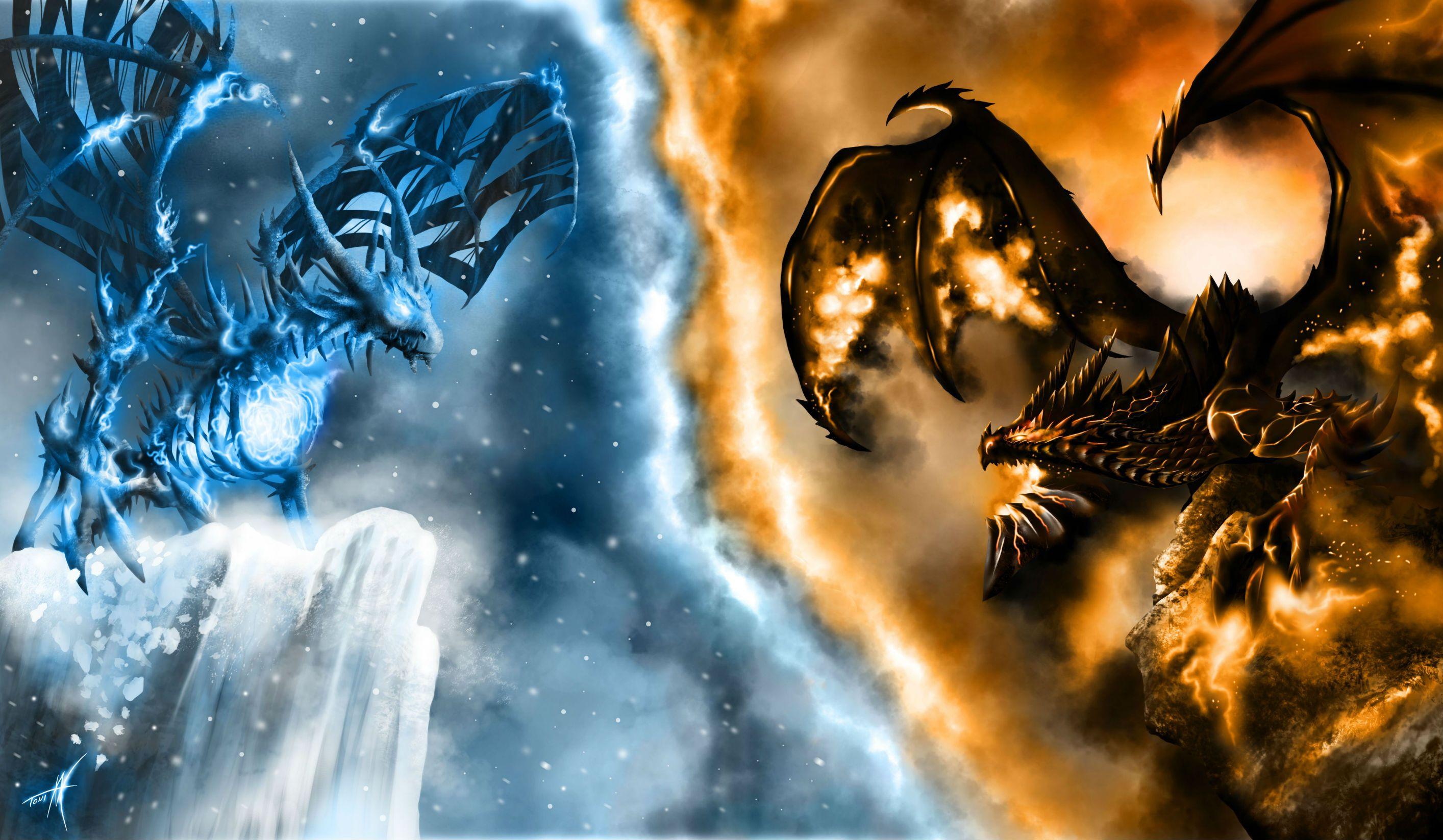 Lightning Dragon Wallpaper Of Warcraft Wow Dragons Fire Snow