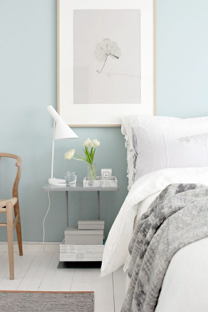 Adopter la couleur pastel pour la maison! | Murs bleus, Peintures ...