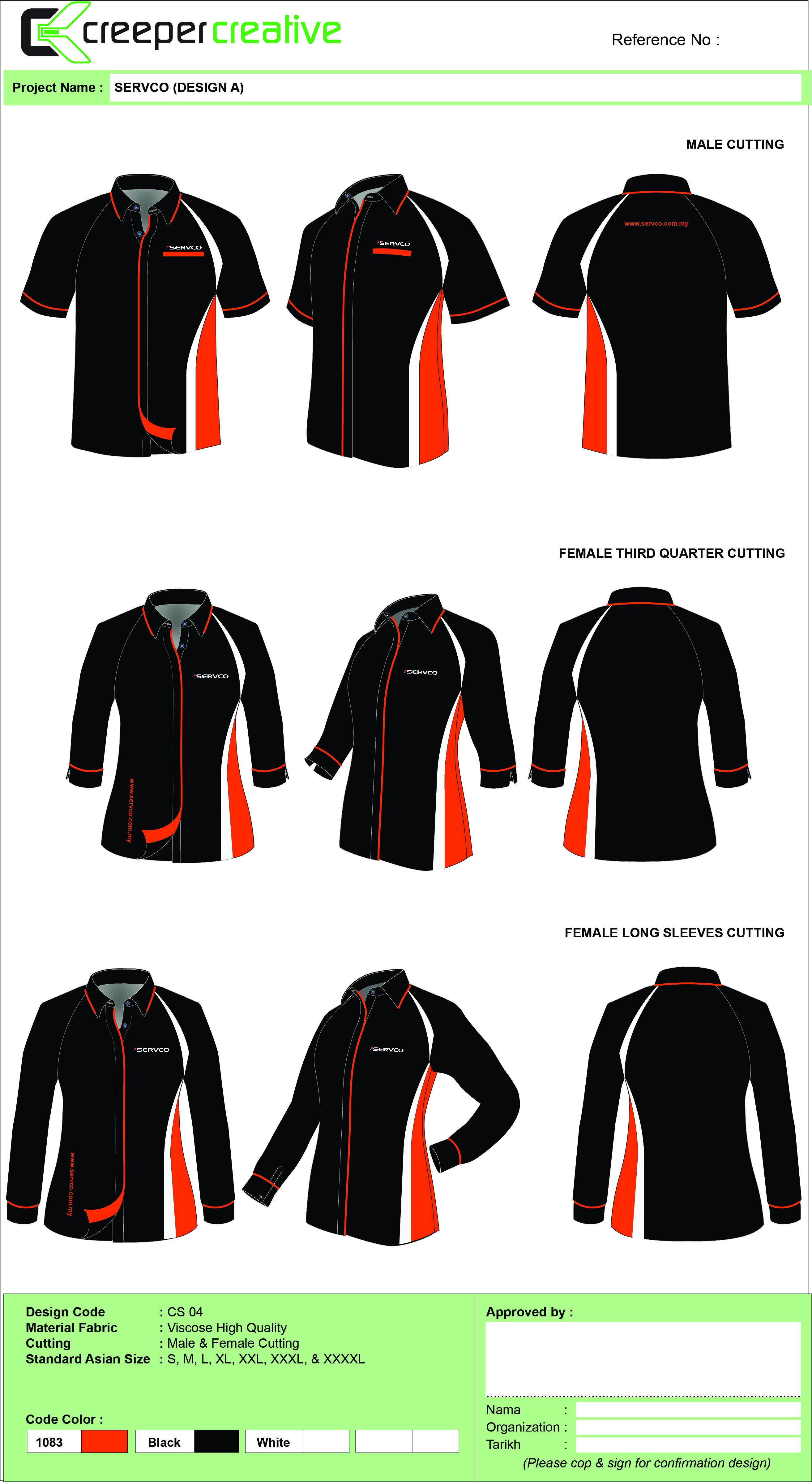 SERVCO CORPORATE SHIRT DESIGN PROPOSAL EDIT 1 Corporate Shirts Corporate Uniforms fice Outfits Women