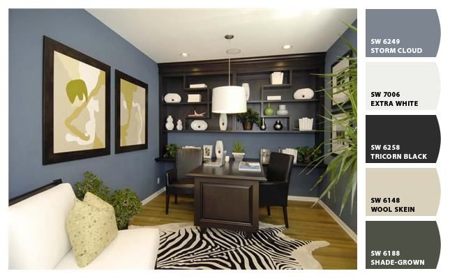 Choosing the right color scheme for your office | Home ...