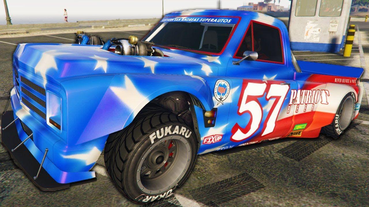 I Drove The Ultimate Drift Truck GTA Online Casino DLC