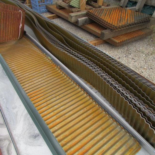 Corrugated Metal Landscape Edging Rustic Gardens Garden Edging Steel Garden Edging