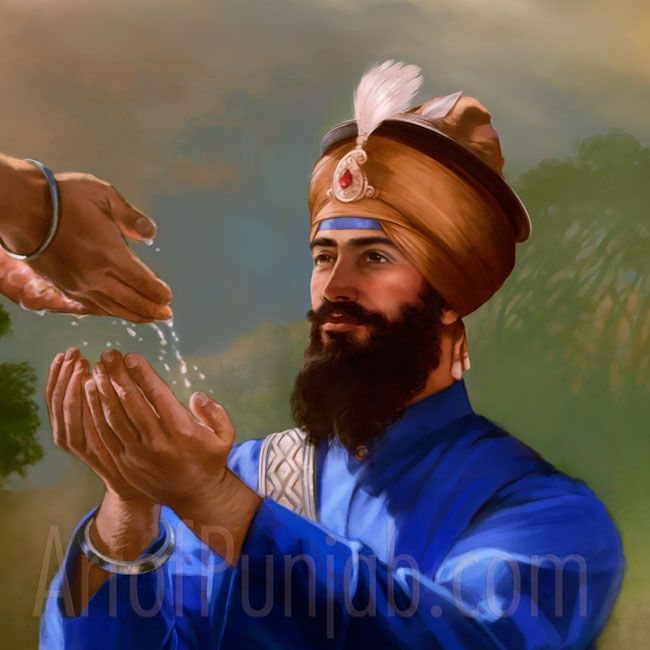 Guru Gobind Singh Master And Disciple Sikhism