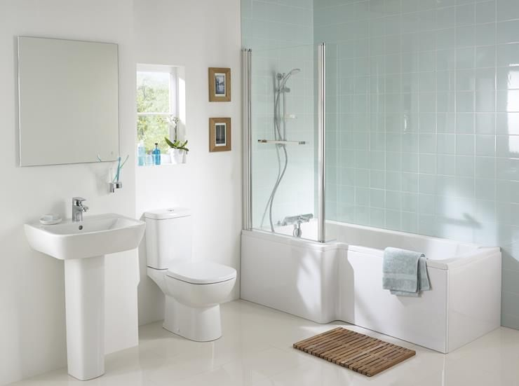 Ideal Standard Concept Square Showering Bath With Tempo Bathroom Suite Bathroom Suite Bathroom Suite