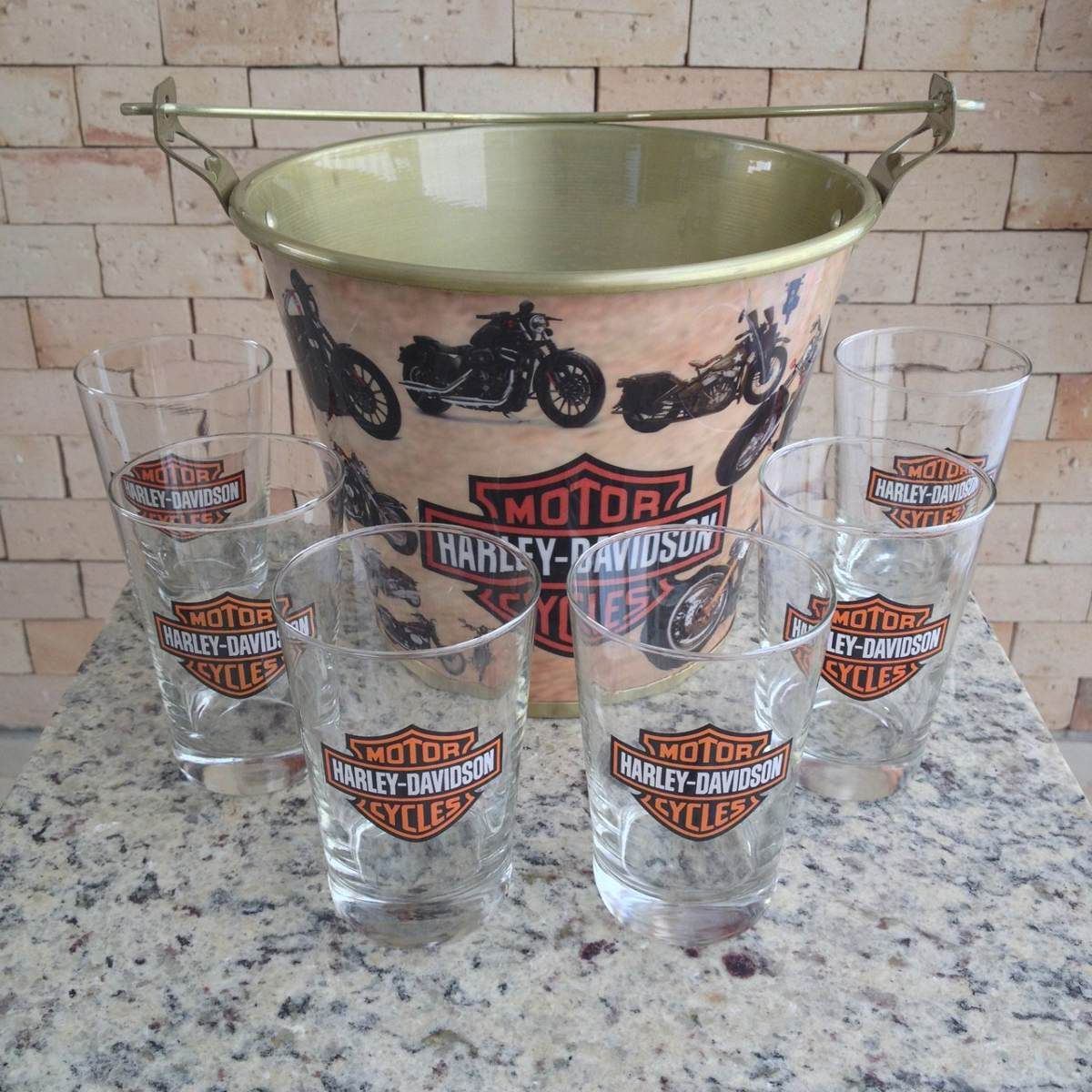 Harley-Davidson Home Bar | kit home bar harley davidson balde grande ...
