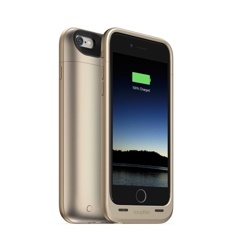 Mophie juice pack air for iphone gives you 100 power when
