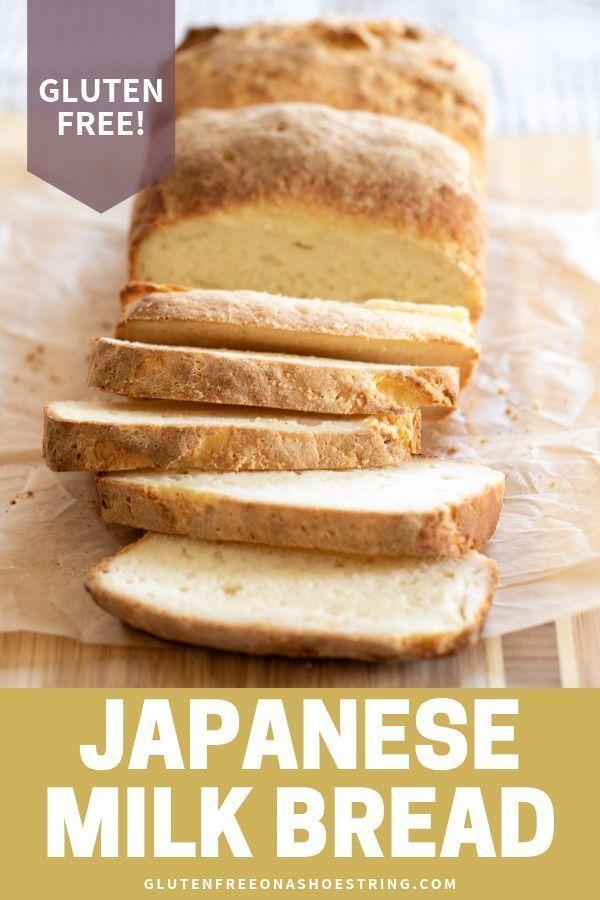 Gluten Free Bread: Japanese Milk Bread is the Softest Bread Ever #glutenfreebreakfasts
