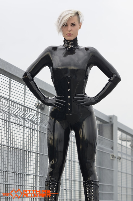 Pin on Latex Catsuit