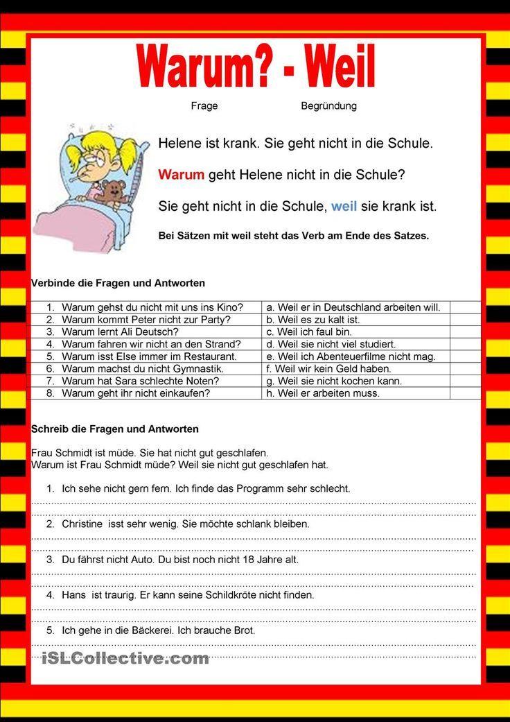 Englisch Versuchen