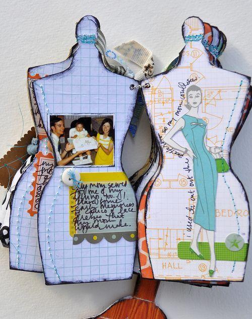 Dress form album