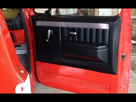 Part 1 Chevy C10 Door Panels Install New Aftermarket Door Panels 73 87 Youtube Truck Interior Doors Interior Interior